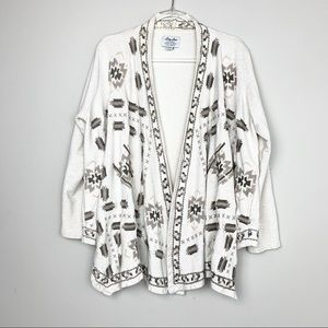 Lucky Lotus Embroidered Cardigan